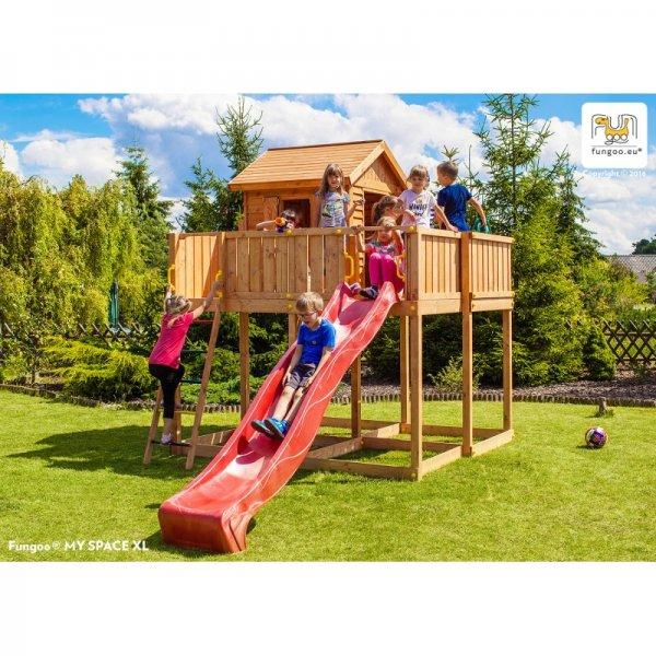 Детска площадка с къщичка и пързалка My Space XL